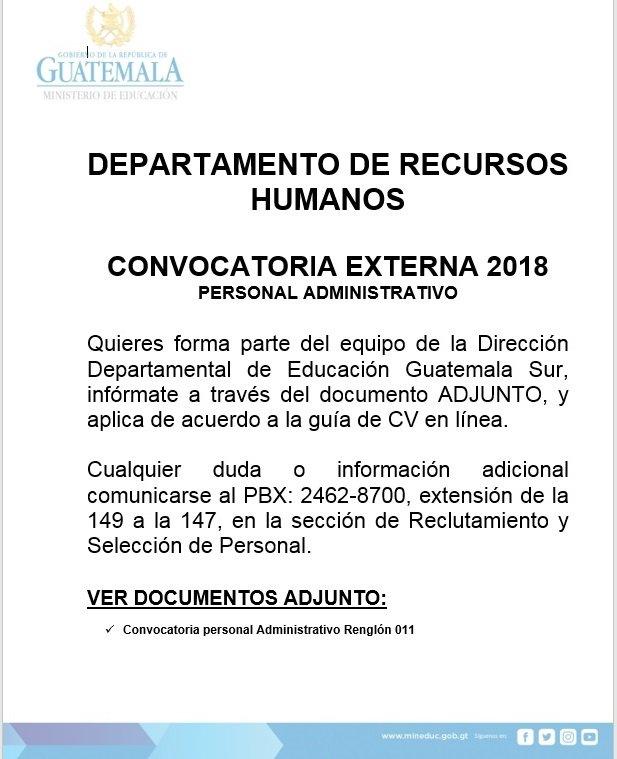 Departamento De Recursos Humanos Direccion Departamental De